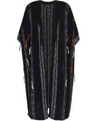Antik Batik - Open-knit Cotton-blend Cardigan - Lyst