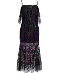Jonathan Simkhai - Corded Lace Midi Dress - Lyst