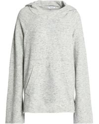 Splendid - Marled French Cotton-blend Terry Hoodie - Lyst
