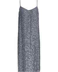 Velvet By Graham & Spencer - Sequined Woven Dress - Lyst