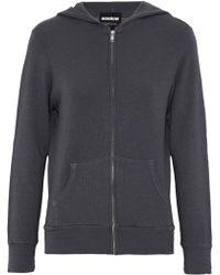 Monrow - Jersey Hooded Sweatshirt - Lyst