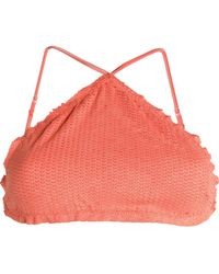 ViX - Sarah Laser-cut Bikini Top - Lyst