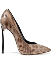 Casadei - Woman Blade Ayers Pumps Animal Print - Lyst