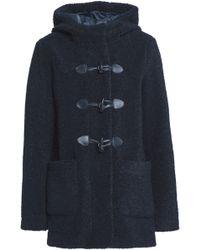 Maje - Faux Fur Hooded Jacket - Lyst