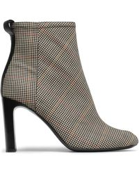 Rag & Bone - Woman Houndstooth Jacquard Ankle Boots Black - Lyst