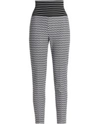 Missoni - Jacquard-knit Skinny Trousers - Lyst