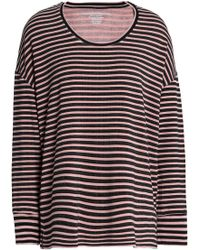 Majestic Filatures Woman Striped Jersey Top Blush Size 3 Majestic Filatures Outlet Low Price Fee Shipping Cheap Footlocker 2018 Cheap Online 22voQ70D