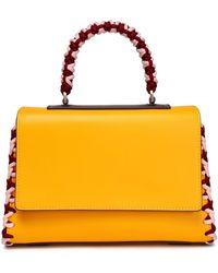 Emilio Pucci - Woman Leather Tote Saffron Size -- - Lyst