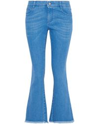 Stella McCartney - Flared Mid Denim - Lyst
