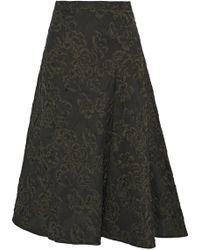 Erdem - Mina Cloqué-jacquard Skirt - Lyst