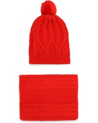 Chinti & Parker - Cable-knit Merino Wool Scarf - Lyst