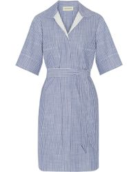 By Malene Birger - Olali Striped Cotton Shirt Dress - Lyst