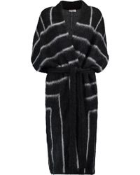 Vionnet - Belted Mohair-blend Coat - Lyst