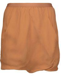 Rick Owens - Bud Silk-crepe Shorts - Lyst