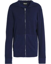Monrow - Knitted Hooded Jacket - Lyst