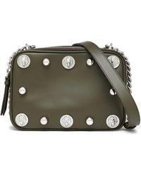 Versus - Studded Leather Shoulder Bag - Lyst