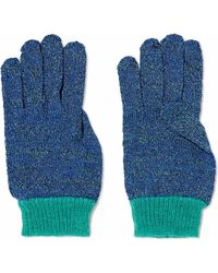 Missoni - Metallic Crochet-knit Gloves - Lyst