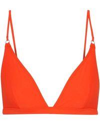 Acne Studios - Hedea Triangle Bikini Top - Lyst