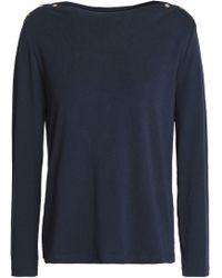 Petit Bateau - Cotton-jersey Top - Lyst