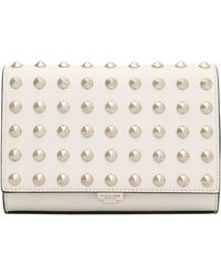 Michael Kors - Studded Leather Clutch - Lyst