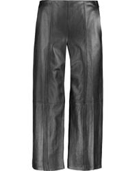 Vince - Leather Culottes - Lyst