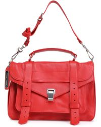Proenza Schouler - Ps1 Leather Shoulder Bag - Lyst
