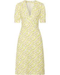 Tomas Maier - Knee Length Dress Chartreuse - Lyst