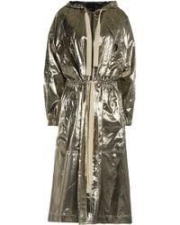Isabel Marant - Metallic Silk Coat - Lyst