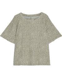 Current/Elliott - The Roadie Leopard-print Cotton-jersey T-shirt - Lyst