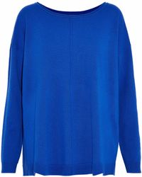 By Malene Birger - Twikkian Wool And Cashmere-blend Sweater - Lyst