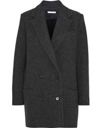 IRO - Kalso Double-breasted Wool-blend Twill Coat - Lyst