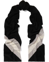Madeleine Thompson - Gunther Striped Wool And Cashmere-blend Scarf - Lyst