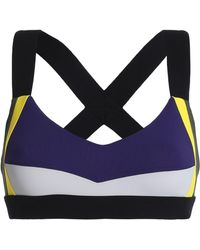 NO KA 'OI - Color-block Stretch Sports Bra - Lyst