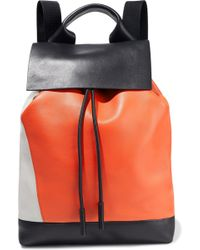 Marni - Color-block Leather Backpack - Lyst