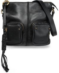 525596de904c See By Chloé - See By Chloé Woman Leather Shoulder Bag Black - Lyst