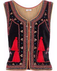 Vilshenko | Embellished Cotton Vest | Lyst