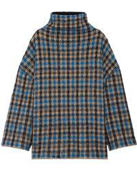 Stella McCartney - Intarsia Wool-blend Jumper - Lyst