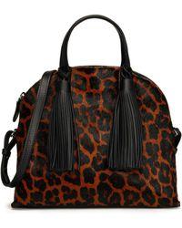 Loeffler Randall - Shoulder Bag Animal Print - Lyst
