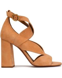Chloé - Suede Sandals - Lyst