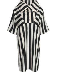 Nina Ricci - Striped Silk Dress - Lyst