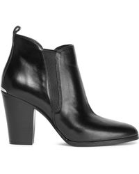 MICHAEL Michael Kors - Leather Ankle Boots - Lyst
