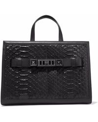 Proenza Schouler - Ps11 Leather-trimmed Python Tote - Lyst