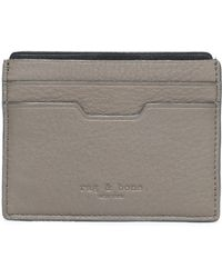 Rag & Bone - Textured-leather Cardholder - Lyst