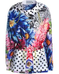 Mary Katrantzou - Printed Shell Hooded Jacket - Lyst