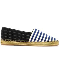 Marc Jacobs - Two-tone Striped Grosgain Espadrilles - Lyst