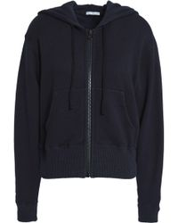 James Perse - Cotton-blend Hooded Jacket - Lyst