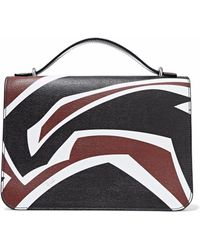 Emilio Pucci - Printed Textured-leather Tote - Lyst
