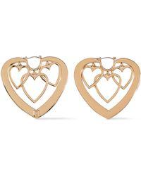 DANNIJO - Woman Gold-plated Earrings Gold - Lyst