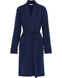 Skin - Pima Cotton-jersey Robe - Lyst