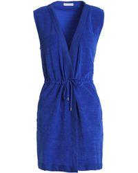 Orlebar Brown - Cotton-terry Dress Bright Blue - Lyst